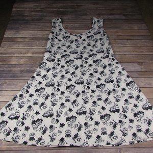 Minions Plus Size 5 Skater Dress White